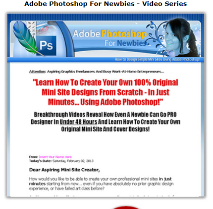 Adobe Photoshop For Newbies - Video Series