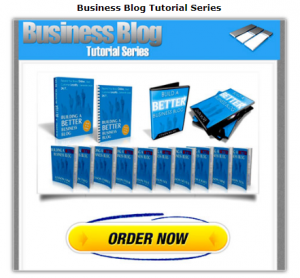 Business Blog Tutorial Series