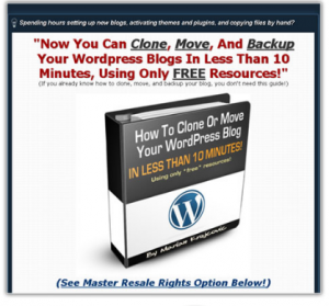 Clone Your WordPress